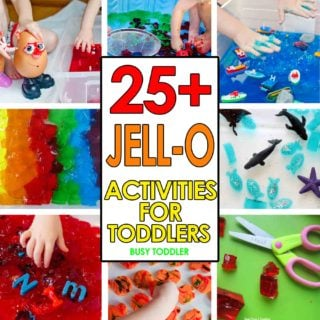 25+ Jell-O Activities for Toddlers