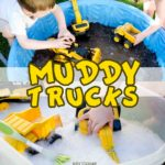 Muddy Trucks and Car Wash