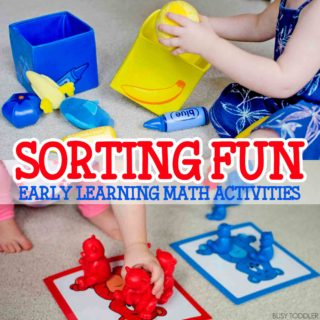 Sorting Fun: Early Learning Math Activities