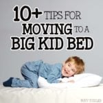 Tips for Transitioning from Crib to Bed