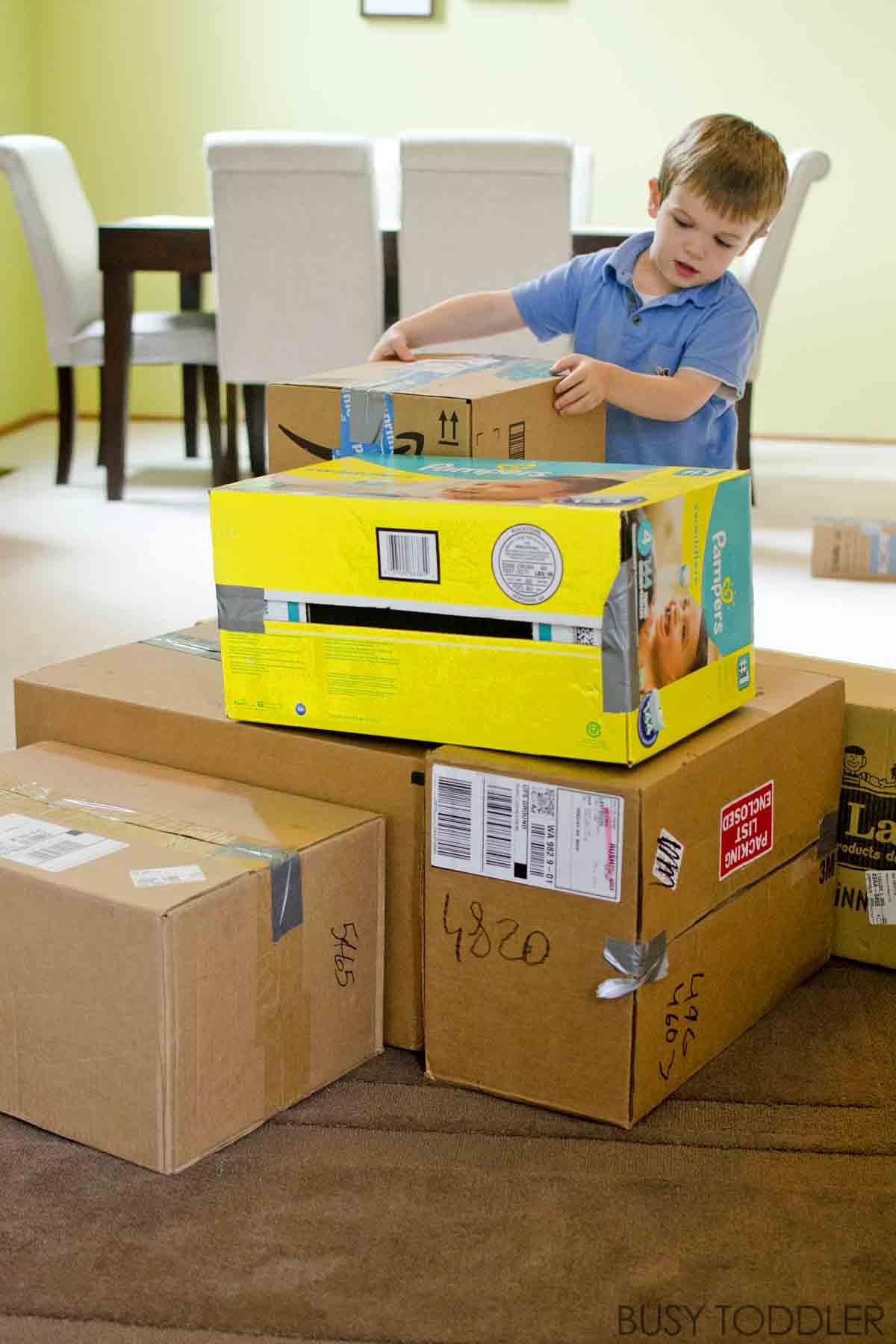 Giant Building Blocks Toddler STEM Activity Busy Toddler