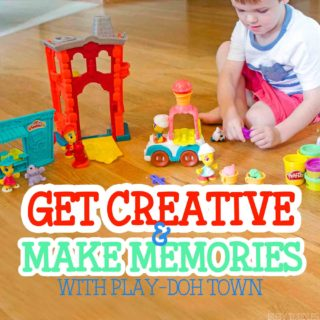 Get Creative & Make Memories with Play-Doh Town