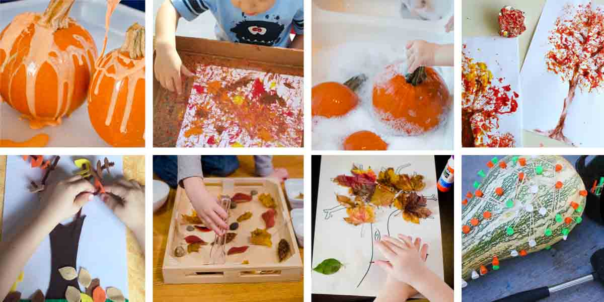 AWESOME FALL ACTIVITIES Your Toddler Will Love All 50 Of These Simple Activities