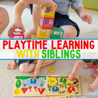 Playtime Learning with Siblings