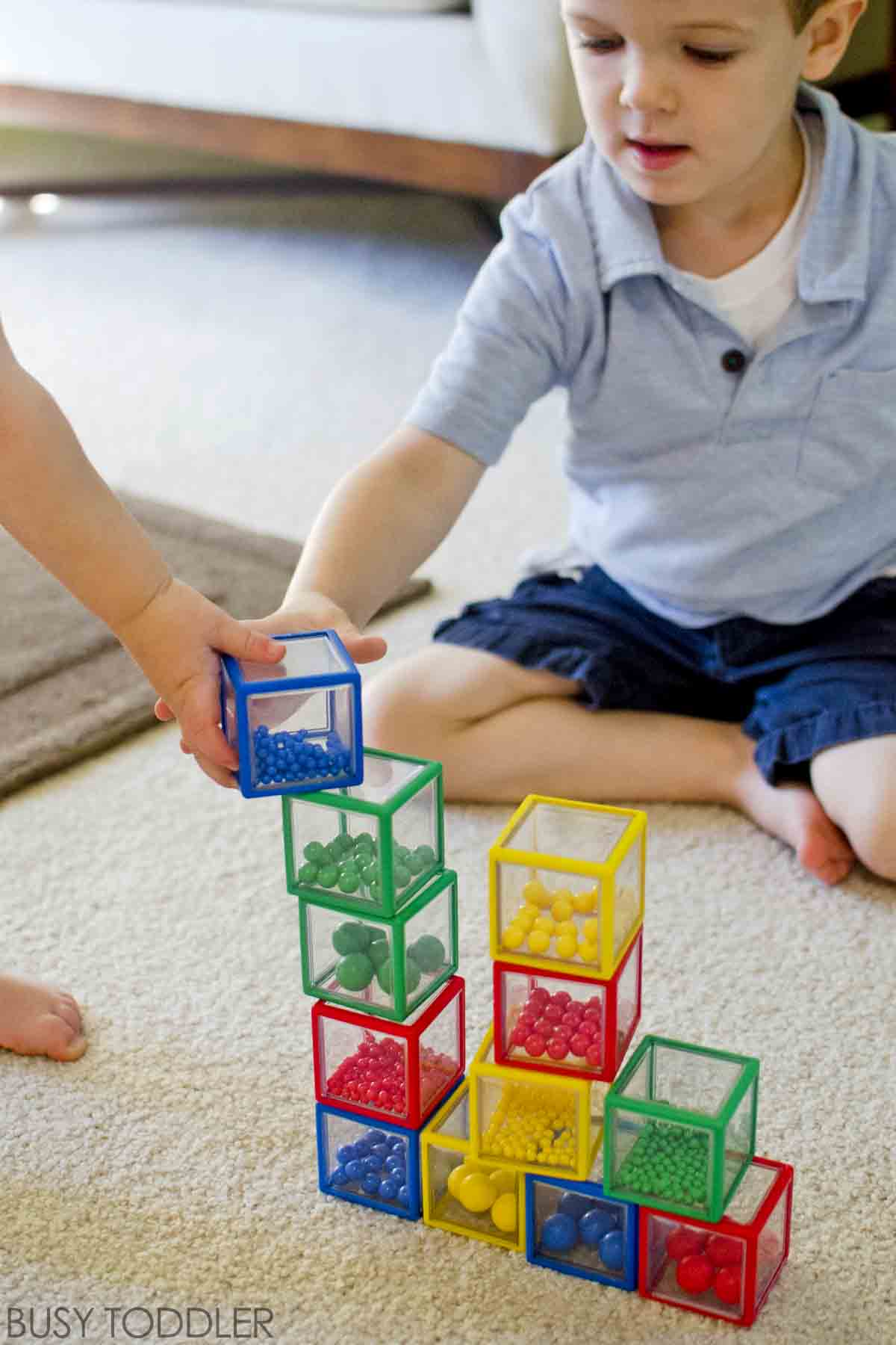 PLAYTIME LEARNING WITH SIBLINGS: Four fun ideas for sibling playtime; encouraging a sibling relationship; toddler activities