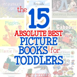 15 Best Picture Books for Toddlers