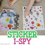 Sticker I-Spy