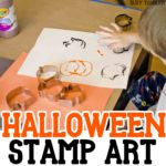 Halloween Stamp Art