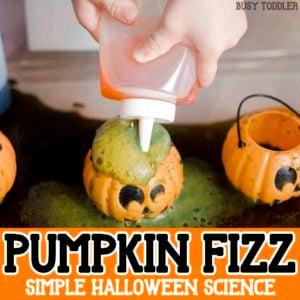 Pumpkin Fizz: Halloween Science Activity