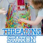 Threading Station: Quiet Time Activity