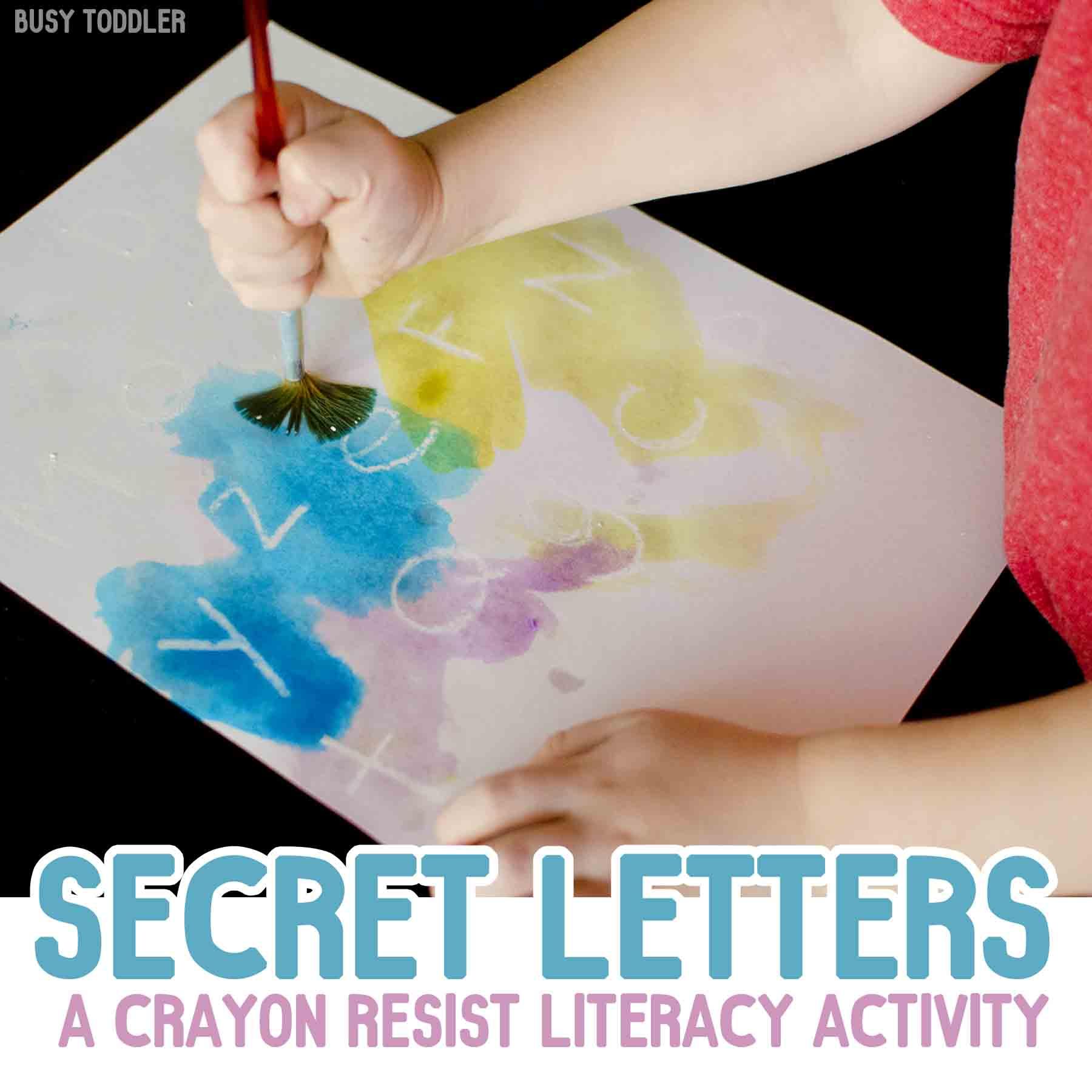 Secret Letters Activity