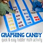 Graphing Candy with Toddlers