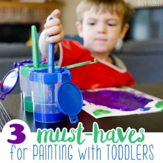 3 Must-Haves for Painting with Toddlers
