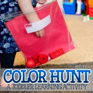 Learning Colors Activity: Color Hunt