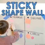 Sticky Shape Wall