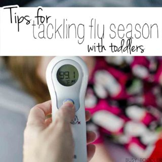 Tackling Flu Season with Toddlers