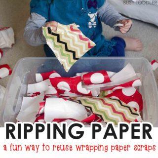 Ripping Paper Bin