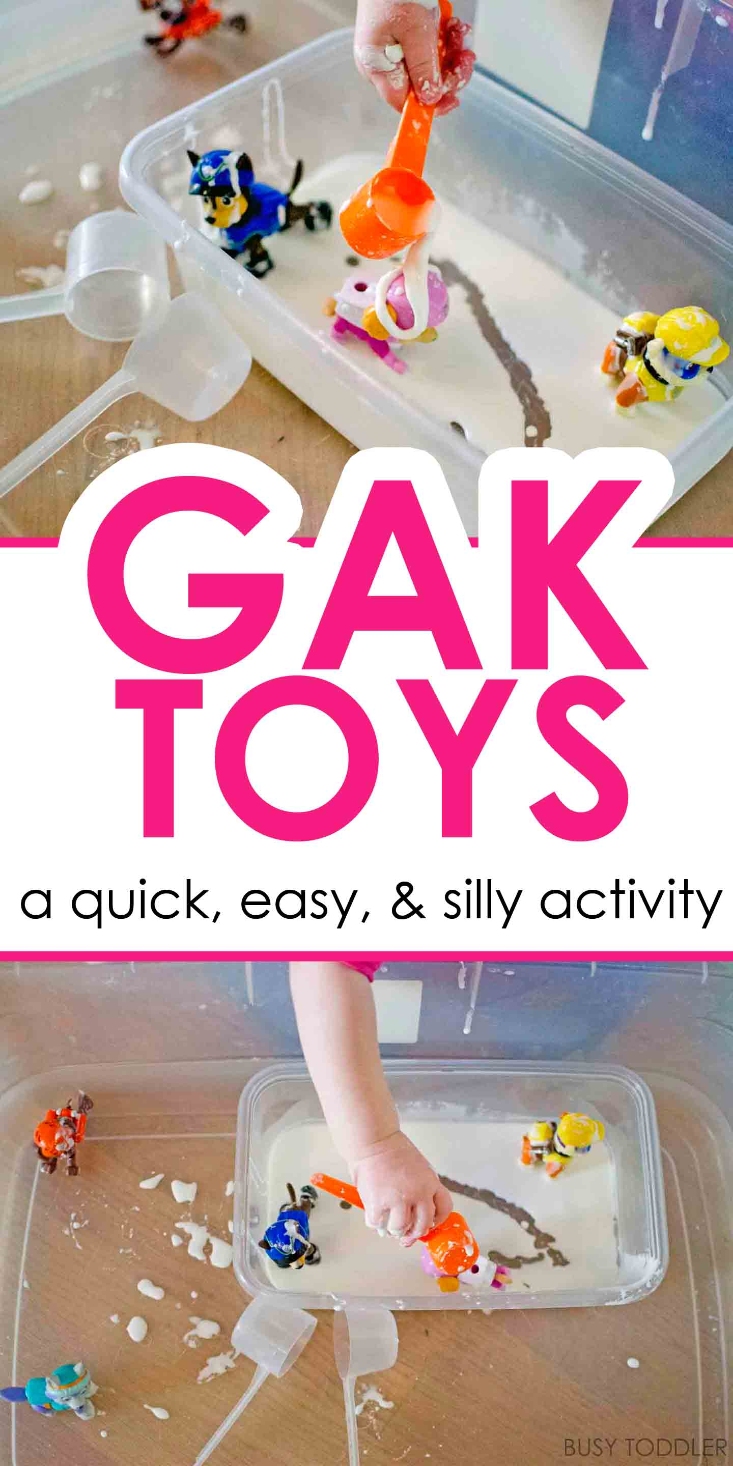 Gak Toys Activity Busy Toddler
