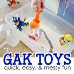 Gak Toys Activity