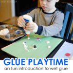 Glue Playtime Activity