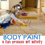 Body Paint Process Art