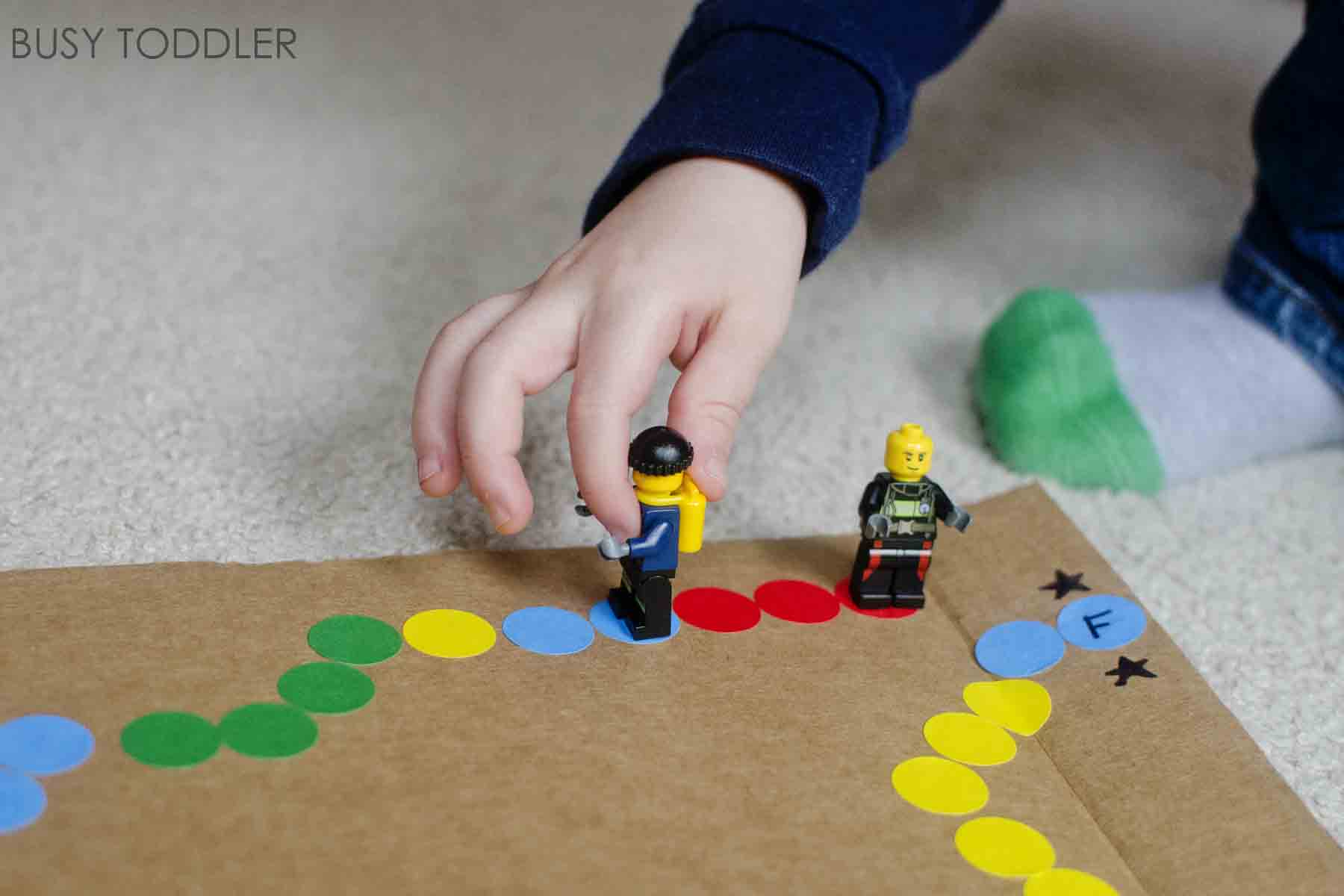 DIY Board Game Busy Toddler