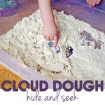 Cloud Dough Hide and Seek