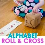 Simple DIY Alphabet Game