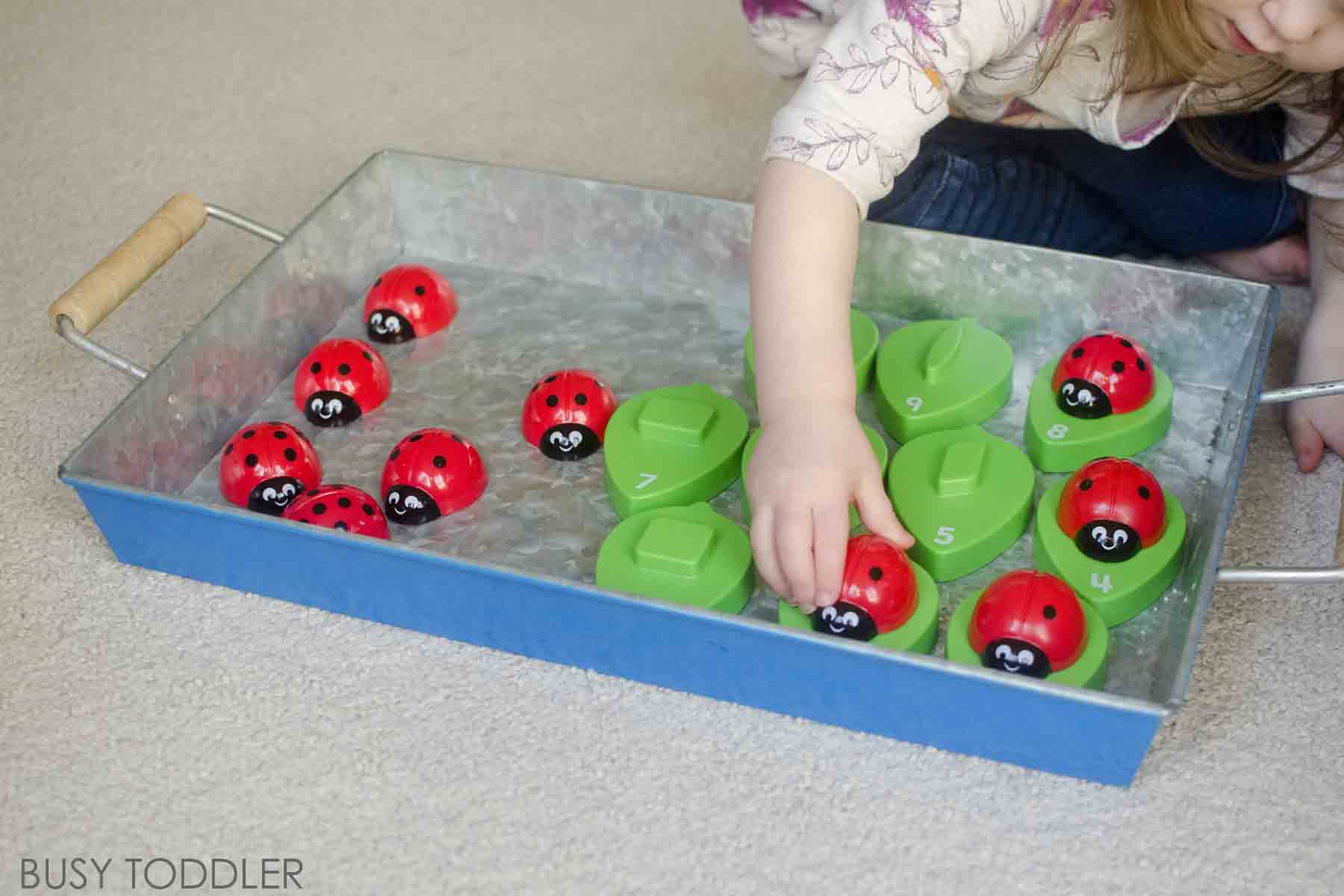 Developing Number Sense Through Play - Busy Toddler