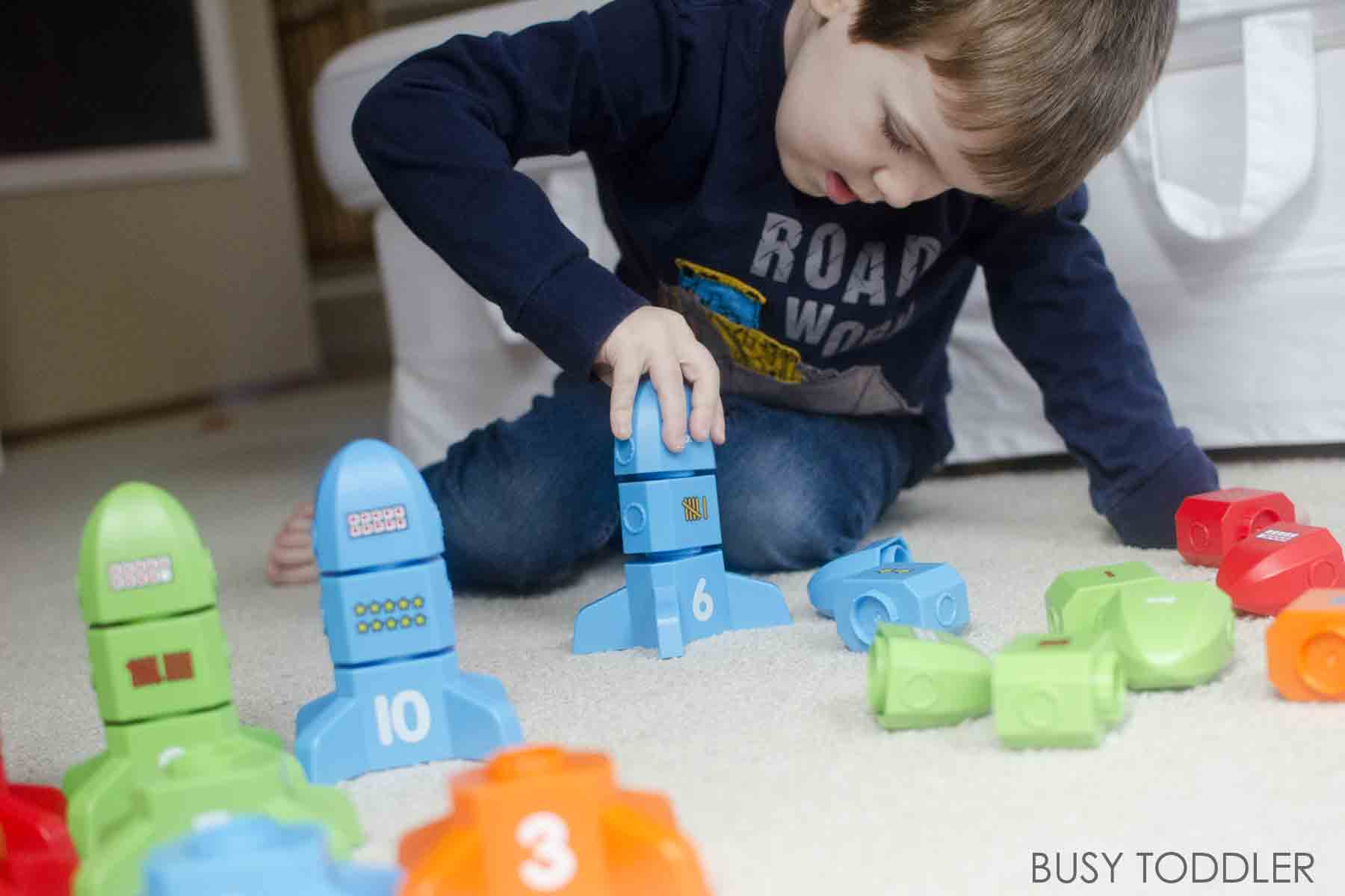 DEVELOPING NUMBER SENSE: easy ideas for building number sense with toddlers and preschoolers; awesome toys for math activities from Lakeshore Learning #ad