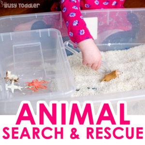 Animal Hunt Sensory Activity