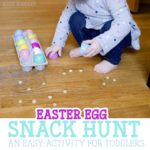 Easter Egg Snack Hunt