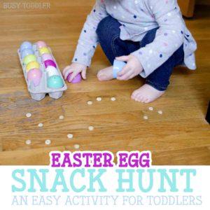 Easter Egg Snack Hunt