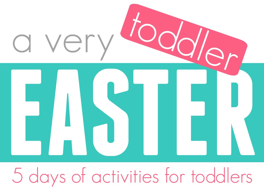 So many easy toddler Easter activities on one page!