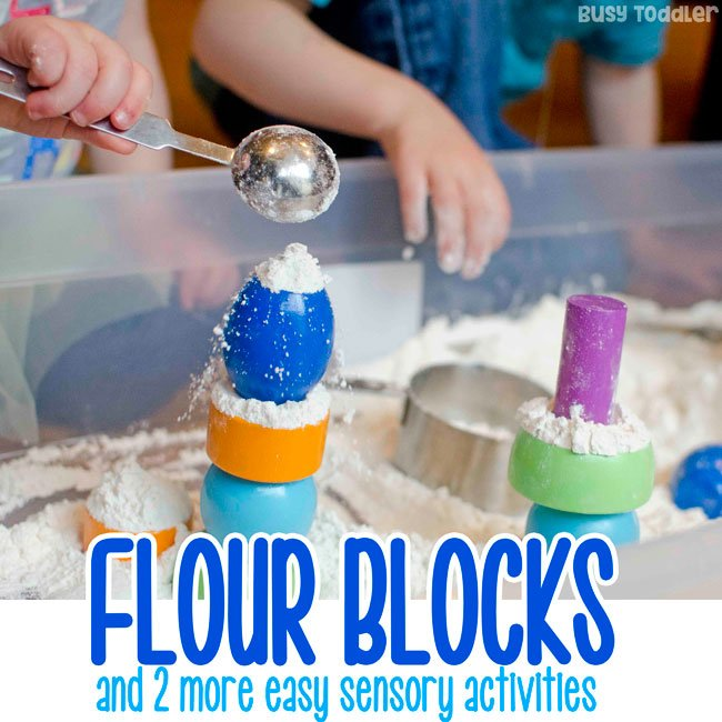 SENSORY ACTIVITIES FOR TODDLERS: Check out these 3 great sensory activities; fine motor skill activities for toddlers; easy indoor activities for toddlers; quick and easy toddler activities from Busy Toddler (sponsored by Lakeshore)