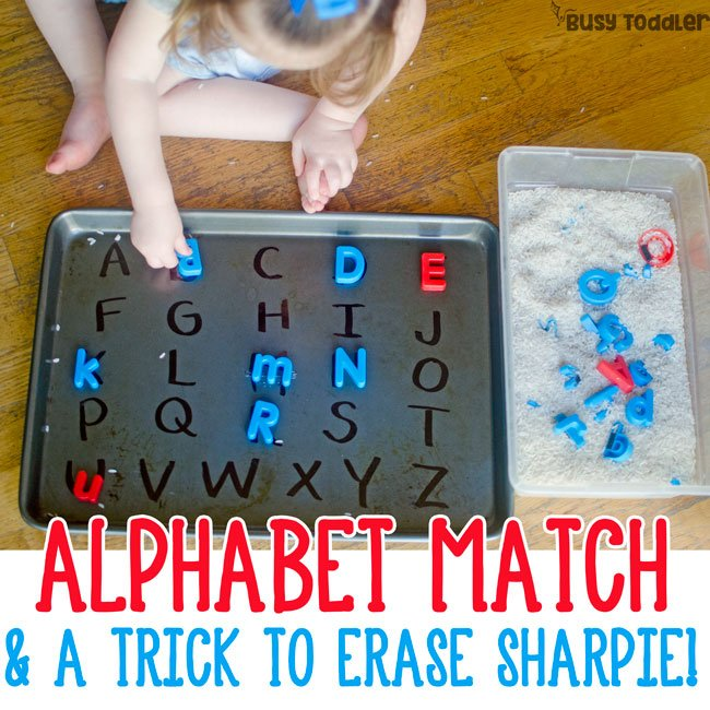 Easy Alphabet Matching Activity