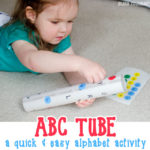 ABC Tube – easy letter matching activity