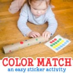 Easy Color Matching Activity