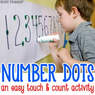 Easy Counting Activity for Preschoolers