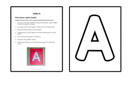 ALPHABET CRAFT BUNDLE: What a fun way to play with the alphabet! Create an easy alphabet book using these 26 alphabet craft ideas from Busy Toddler