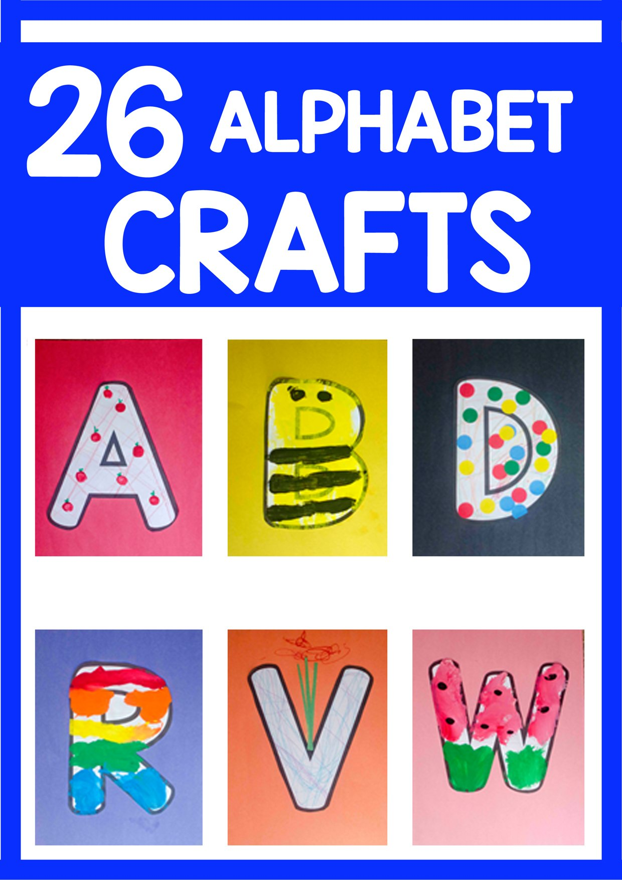 letter alphabet crafts alphabet craft bundle busy toddler 6932