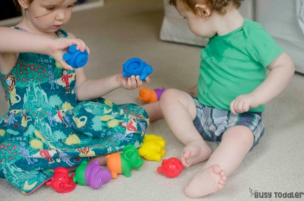 BABY TOYS: You've got to see these awesome toy ideas from baby from Lakeshore Learning! We love these easy baby activities! Babies will love these fun ways to play from Busy Toddler (#ad from Lakeshore Learning)