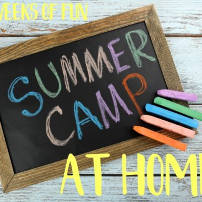 WATER AND ICE ACTIVITIES: Summer Camp at Home with 12 weeks of easy and fun activities; kids will love these great outdoor activities; summer camp for kids; backyard summer camp