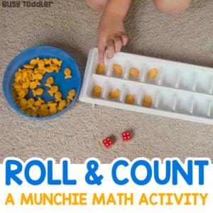 Roll & Count: A Munchie Math Activity