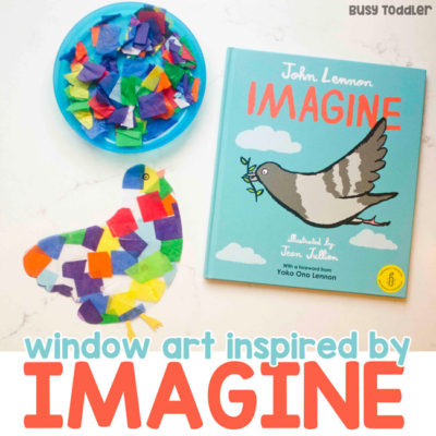 Window Art Inspired by Imagine