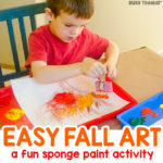 Easy Fall Art Activity