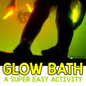 Make a Fun Glow Stick Bath