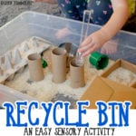 Make a Recycled Sensory Bin