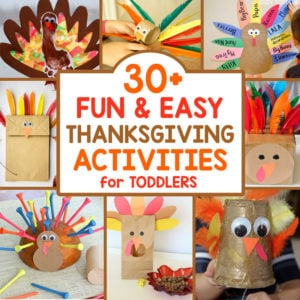 Easy Thanksgiving Activities for Toddlers