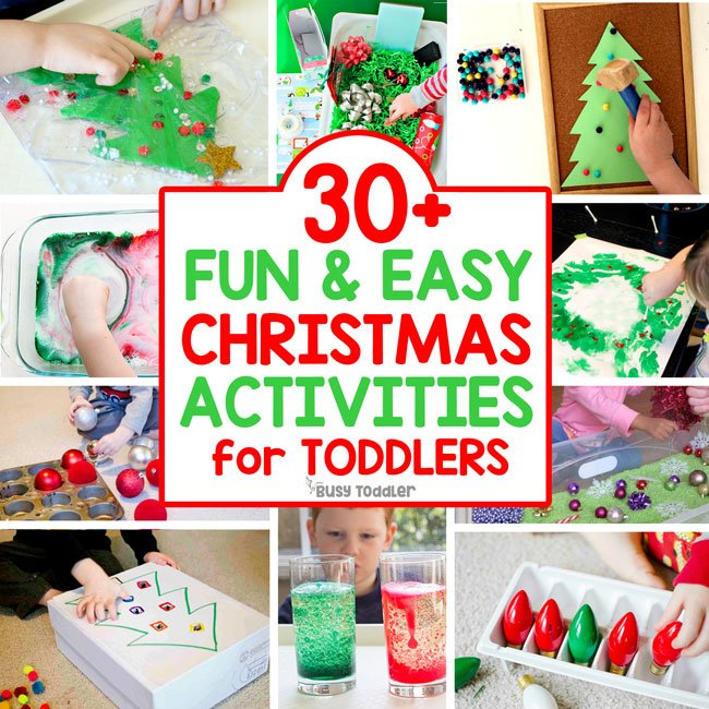 Craft Ideas For Kindergarten Christmas Party